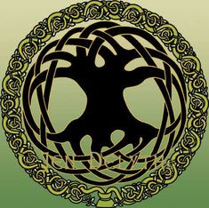 tree of life | Celtic Tree of life by Welsh Artist Jen Delyth ©1990 www ...