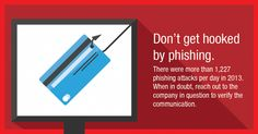 Don't let your identity get hooked by phishing.