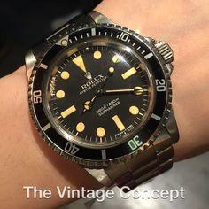 Rolex Submariner Maxi MK 1 5513  WhatsApp: 852-96991000 Email: info@thevintageconcept.com by thevintageconcept #rolex #daytona #rolexdaytona #watchesformen