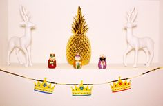 DIY: Tres reyes magos garland and printable| Live Colorful and The Queen of Swag
