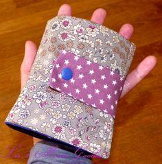 sac pliable violet et libert plié