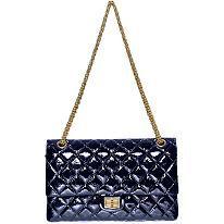 Chanel Classic Patent Leather Handbag