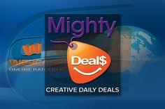 """Es gibt viele seriöse Discounts """"Laden"""" Online für Designer, Grafiker, Webdesigner oder kreative Menschen. Ein davon ist bestimmt MightyDeals. Sie finden hier täglich neue tolle Angebote von hochwertigen Schriften, Vorlagen/Templates – Grusskarten, Visitenkarten, Apps, E-Books, Icons und vieles mehr. Online Deals, Daily Deals, Designer, Apps, Writing Fonts, Business Cards, Graphics, People, Templates"""