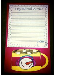 how to make hot chocolate descriptive writing