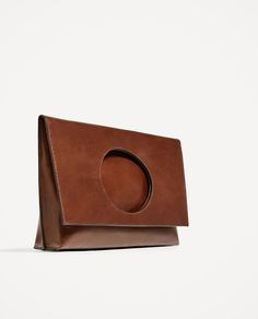 FOLDABLE LEATHER CLUTCH-View all-BAGS-WOMAN | ZARA United States