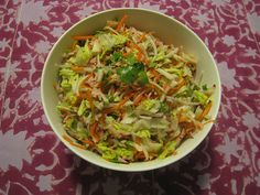 Recipe: Kohlrabi, Radish, Carrot, Cabbage Slaw