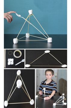 Easy Marshmallow Catapults - DIY Summer Crafts for Boys - Click for Tutorial