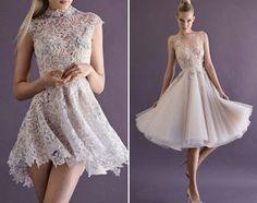 2014 Top 20 Short Sassy Wedding Gowns - Praise Wedding