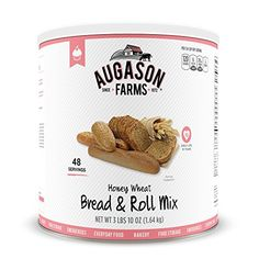 Augason Farms Honey Wheat Bread  Roll Mix 10 Can 58 oz * Read more  at the image link. (This is an Amazon affiliate link and I receive a commission for the sales and I receive a commission for the sales)