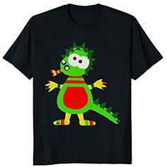 Funny Dinosaur Shirt Dino T-Shirt Gift Boys Kids Men Dragon