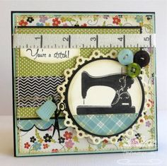 You're a Stitch by mrupple - Cards and Paper Crafts at Splitcoaststampers