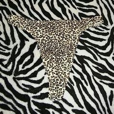 Victoria's secret animal print thong sz S new Vs brand New Size small Animal print Trade price 12 Victoria's Secret Intimates & Sleepwear Panties