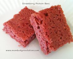 Good! Strawberry Protein Bars.