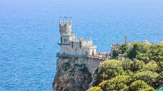 Castle Swallow's Nest in Crimea by alexeyart on @creativemarket