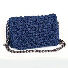 Handmade crochet flap bag Beauty Case, Sewing Accessories, Crochet Bags, Handmade Bags, Purses And Bags, Fall Winter, Pouch, Vans, Handbags
