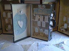 Vintage Suitcase Wedding Table Seating Plan | eBay