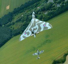 Vulcan Bomber: What keeps XH558 flying? - http://www.warhistoryonline.com/war-articles/vulcan-bomber-keeps-xh558-flying.html