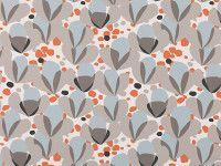 Alva Clementine - Makela - Contemporary Print : Upholstery Fabrics, Prints, Drapes & Wallcoverings