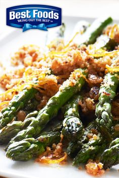 Fresh asparagus, garlic and white wine make this the perfect vegetable side dish for any summer dinner party. Just heat up the grill and use the delicious goodness of Best Foods Mayonnaise with Olive Oil.