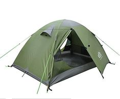4 Season Waterproof Dome Backpacking Mountain Tent for 2 person Camping Hiking Travel Climbing -- Click image for more details. (This is an affiliate link) #CampingTents