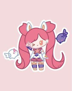 Star Guardian Jinx, League Of Legends Comic, League Champs, Overwatch Comic, Rwby, Cute Art, Character Art, Chibi, Pikachu