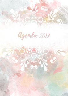 Aquí está la agenda para el próximo año totalmente gratis. Este es uno de los cinco modelos que hay para elegir. Puedes descargarla en  http://asweetwinter.blogspot.co.uk/2016/11/agenda-17.html