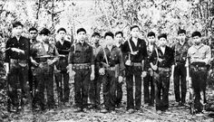 Soldiers of the Viet Cong D445 Battalion, who participated in the Long Tan battle.