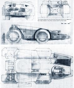 Ron Cobb concept art