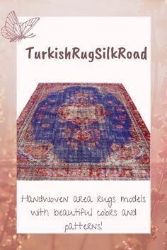 Large area rug, Livingroom rug, Turkish rug, Oriental rug, Vintage rug 7.1 x 10.3 Ft Blue rug, Bohemian rug, Boho decor rug, Carpet Boho Decor, Bohemian Rug, Rug Loom, Large Area Rugs, Rustic Rugs, Tribal Rug, Oriental Rug, Rugs In Living Room, Wool Rug