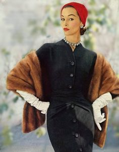 Fabulous 1950's Fashion. I wish more people realized that 1950's fashion was more then just cardigans and poodle skirts. So, so, so much more!