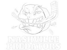 columbus blue jackets coloring pages - photo#37