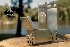 Hot Ash is a rugged natural fuel burning stove for outdoor adventurers.