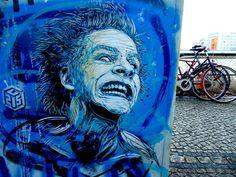 """Christian Guémy, mejor conocido como """"C215"""", es un graffitero francés cuya obra es inconfundible gracias a su magistral uso del estencil en chorreantes fondos de color además de que recurre bastante al retrato humano en sus trabajos. Su trabajo se encuentra esparcido al rededor de todo europa y por supuesto en Brooklyn en Nueva York."""