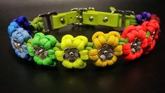 Six Leaf Multiple Colours Aztec Sun Bar | Swiss Paracord