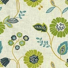 Waverly Vibrant Vines Dawn Fabric