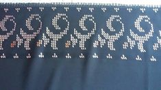 Bargello, Diy And Crafts, Embroidery, Knitting, Crochet, Punto De Cruz, Dots, Needlepoint, Tricot
