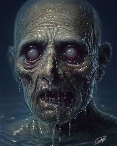 zombie art fantasy concept