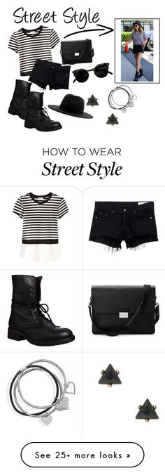 """Street Style"" by esmestar04 on Polyvore featuring Monteau, rag & bone/JEAN, Steve Madden, Études, Aspinal of London and BillyTheTree"