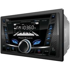 Power Acoustik Double-din In-dash Cd And Mp3 Am And Fm Receiver With Bluetooth & Usb Playback