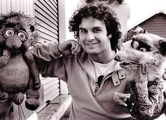Peter Jackson with Puppets from Meet the Feebles