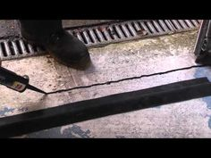 How to install a garage door weather seal - YouTube