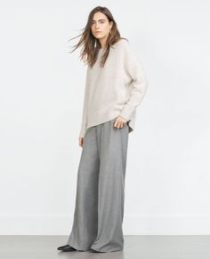 karien anne - my style - light ecru oversized sweater
