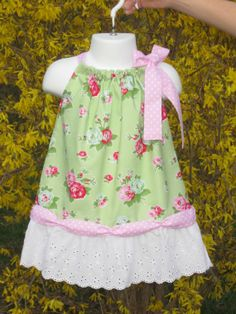 Bayou princess pillowcase dress size 6 mo to girls by OurLegacy, $25.95