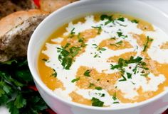 Carrot Soup / Supa de cartofi :: Romanian Food Recipes