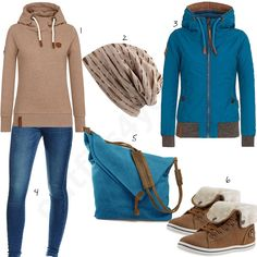 Beige-Türkises Outfit für Frauen mit Canvas Tasche (w0655) #naketano #stiefel #jeans #canvas #jacke #outfit #style #fashion #womensfashion #womensstyle #womenswear #clothing #styling #outfitfrauen #frauenmode #damenmode #handtasche  #inspiration #outfitfrauen #frauenoutfit #damenoutfit #cloth