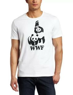 WWF t-shirt, available in all sizes and in 4 different colours (red, blue, white & black) £12.99 with free delivery