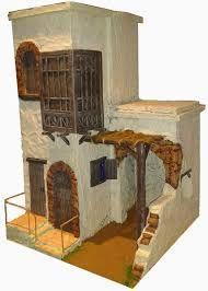Risultati immagini per casas para belenes Fairytale House, Diy Nativity, Ancient Greek Art, Medieval Houses, Ceramic Houses, Little Houses, Bird Houses, Diy And Crafts, Sculptures