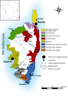 Vignoble de Corse