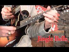 Jingle Bells on Mandolin Lesson! - YouTube