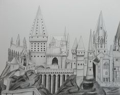 hogwarts coloring page - Google Search